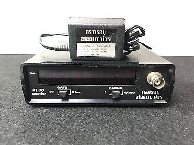 Ramsey Model CT-70 Frequency Counter 600MHz Portable