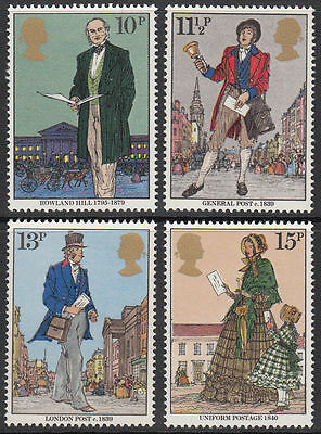 SG1095-1098 1979 ROWLAND HILL 4v Unmounted Mint
