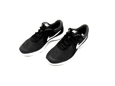 aab653ec575 NIKE REVOLUTION 4 (GS) 943309-006 KIDS Sz. 6.5y BLACK WHITE SNEAKERS ...