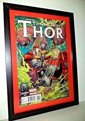 THE MIGHTY THOR Comic # 13 June 2012 MARVEL FRAMED