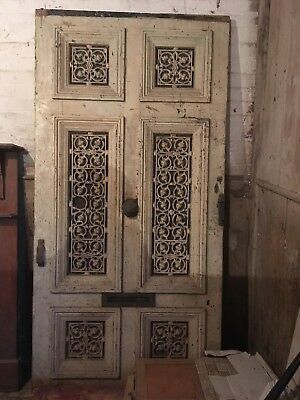 Heavy Antique Ornate Internal/external Door