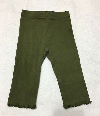 Nwt Sissy Vintage Gymboree Girls / Toddlers  Footless Leggings Sz 3-6 Mo. Green