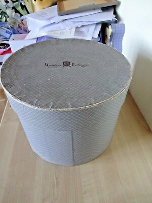 Vintage ENGLISH 1940s 50s Hat Box Display Prop Industrial Cafe