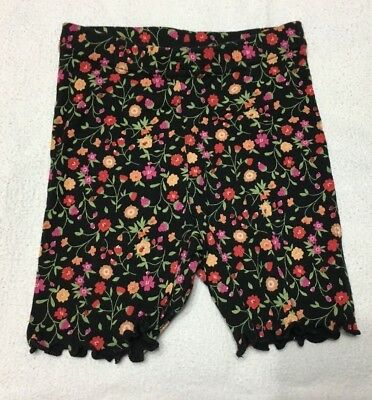 Nwt Sissy Vintage Gymboree Girls / Toddlers Footless Leggings Sz 6-12Mo.flowers