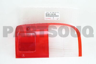 8156135130 Genuine Toyota LENS, REAR COMBINATION LAMP, LH 81561-35130