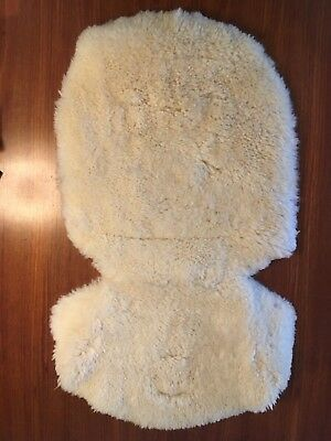 John Lewis sheepskin buggy liner - proceeds to charity