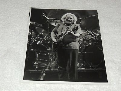 Grateful Dead / Garcia - Feb 1995 8x10 Black & White Original Print - VERY Nice