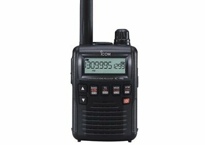 Icom IC-R6 pocket size AM/FM 1300ch scanner plus icom BC-194 drop in charger