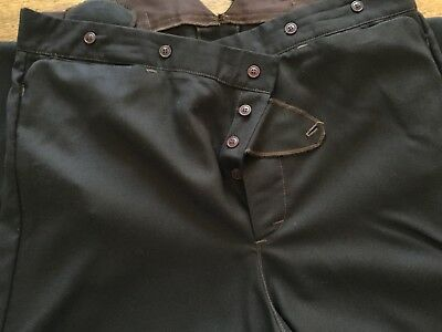 River Junction Trade Co. Made in USA Brown Buckle Back Men's Trousers