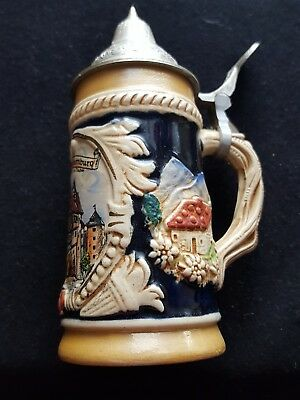 Vintage German Beer Stein from Rothenburg