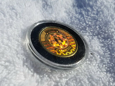 "2011 Series 1 Casascius Bitcoin with hologram ""error"" - Fully Funded"