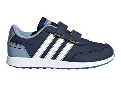 brand new 31503 e861a Adidas VS SWITCH 2 CMF C DB1929 Blue Baby Shoes Sneakers Sports