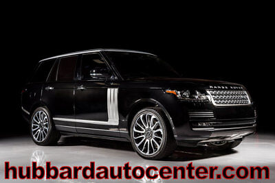 2015 Land Rover Range Rover 4WD 4dr Autobiography 2015 Land Rover Range Rover Autobiography, Front Clear Bra, Loaded, WOW!