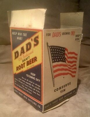 Rare WW2 Dads Rootbeer Advertising
