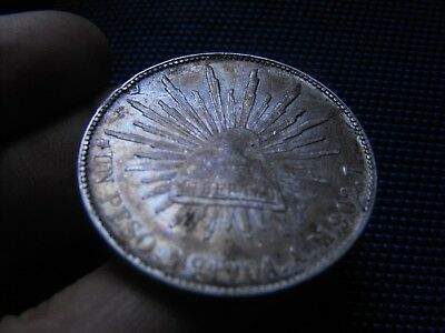 "PESO ""Porfiriano""; 1901 Mo.AM ""Republica Mexicana"" -nice patina(better in hands)"
