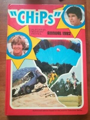 CHiPs Annual 1982, Book based on the 1970s/80s