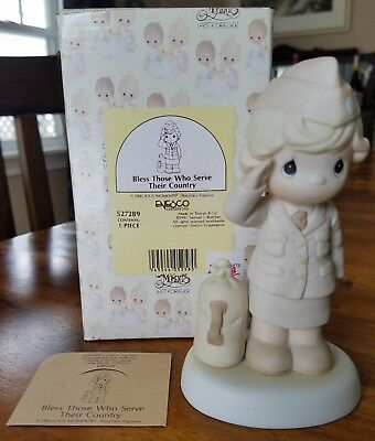 Precious Moments U.S. Army Bless Those Who Serve Their Country 527289 MIB Girl