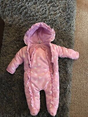 Baby Girls 3-6 Months Snowsuit