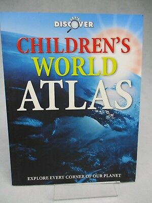 Let's Discover Children's World Atlas  Early Learning