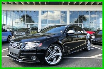 2011 Audi S4 3.0 Premium Plus 2011 3.0 Premium Plus Used 3L V6 24V Automatic quattro Sedan Moonroof Premium