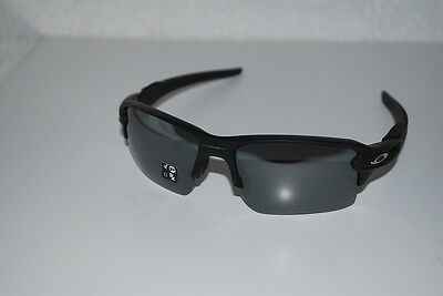 685349bd21 Oakley Flak 2.0 XL Sunglasses OO9188-53 Matte Black black Iridium Polarized  NEW