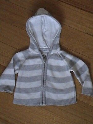 Tiny Little Wonders Knitted Cardigan Jumper Hoodie Size 0