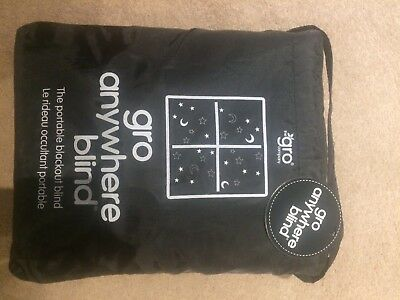 Gro Anywhere Blackout Blind brand new with tags