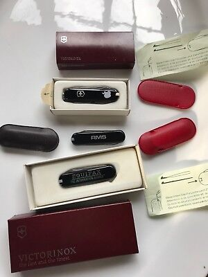 Lot of 3 Tiny Victorinox Swiss Army Knives