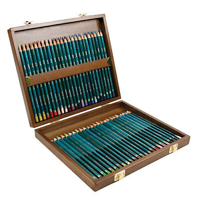Derwent Artist Colour Pencils Full Set of 48 in Wooden Box (Free Freight)