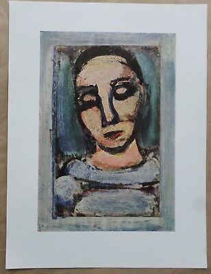 """""""Pierrot"""" Print by Georges Rouault (French School 1871- )"""