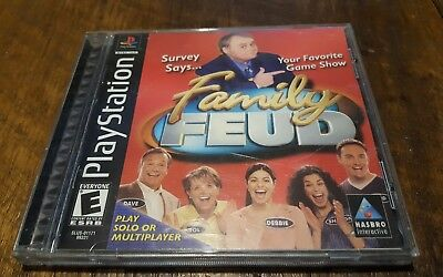 FAMILY FEUD (SONY Playstation 1 ps1) Complete - $5 99 | PicClick