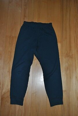 PATAGONIA Capilene Base Layer Pants Bottom Unisex Kids XS 5-6 Navy