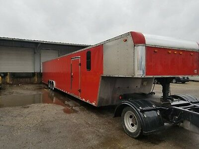 enclosed car hauler trailer[2-3] gooseneck