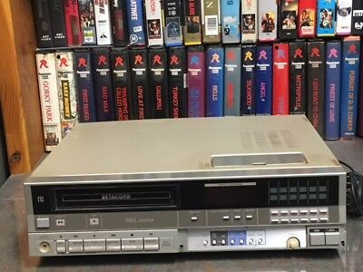 Sanyo VTCM10  Mono Beta VCR. - use to copy Betamax tapes to DVD