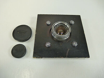 Schneider Kreuznach Componon 1:4/50 Enlarger Lens 50mm w/ Board