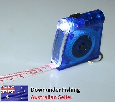 Fish Tape Measurement With Led Light