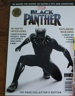 Marvel Black Panther Official Movie Special Magazine