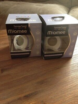 NEW! 2x Tommee Tippee MIOMEE Bath And Room Thermometer RRP $70