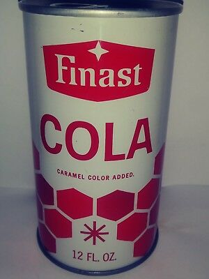 Finast Cola Pull Tab Soda Can - Somerville, Ma!!!