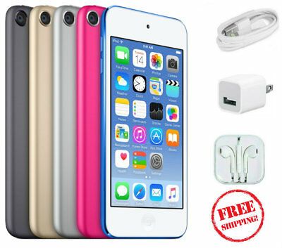Apple iPod touch 6th Generation Wi-Fi 16GB, 32GB, 64GB, ALL COLORS