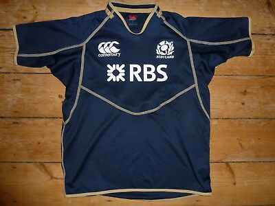 size:XL Scotland Rugby Shirt Maroc Maillot Domicile  6 NATIONS CCC