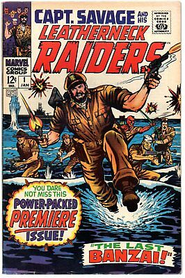 Captain Savage and his Leatherneck Raiders 1-19  Complete run!   Marvel 1967
