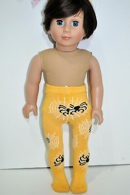 """American Girl Doll Our Generation Journey Gotz 18"""" Dolls Clothes Spider Tights"""