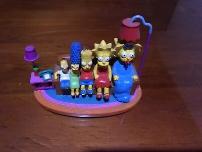 Simpsons Sculpture - Couch Gags - Couch Reverse Size - Ltd Edition Figure 2004