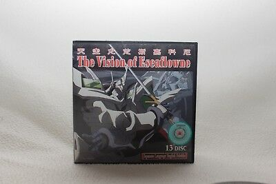 The Vision of Escaflowne 13 Disc Set English Subtitle Anime Sunrise Vintage