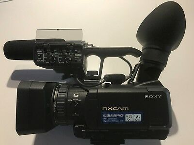Sony HXR-NX70P NXCAM Compact Dust and Rain-proof Professional Camcorder - EC!