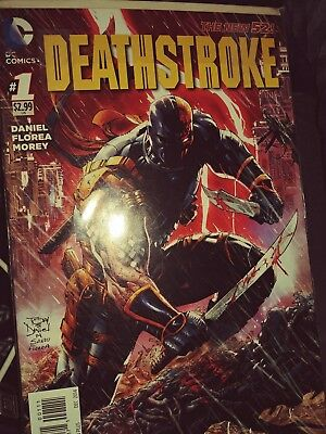 Deathstroke New 52 issue 1