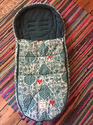 Mamas and Papas Cold Weather Footmuff in Limited Edition Donna Wilson Fox Design