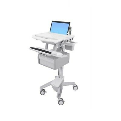 Ergotron Styleview Laptop Cart 2 Tall Drawers SV43-11C0-0