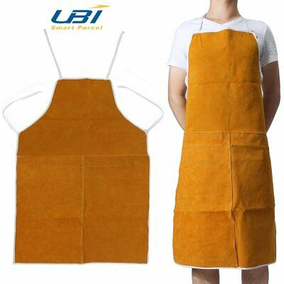 Welding Apron Welders Heat Insulation Cow Leather Protection Equipments Tool